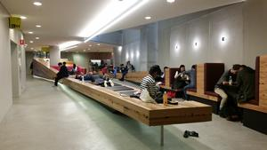 Informal learning space, Building 11, level B1